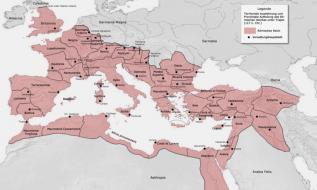 Rimsko carstvo 117 god.