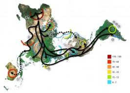 Mapa drevnih migracija ljudi