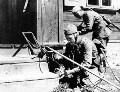 Sovjetski metal detektor iz drugog svetskog rata