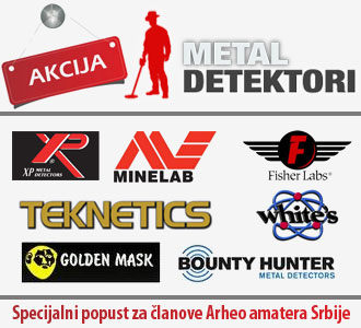 Ovlašćeni zastupnici za Fisher, Teknetics, Bounty Hunter, White's, XP, Golden Mask i Minelab