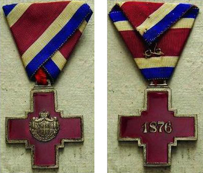 Orden Crvenog Krsta Knjaževine Srbije (1876-1882)