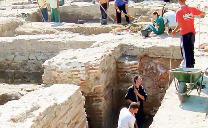 U Sirmijumu pronađene freske i novčići iz 4. veka