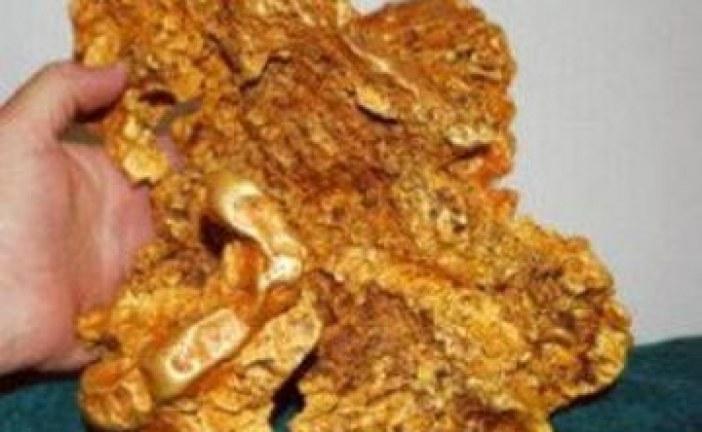 Pronađen grumen zlata težak 23 kg!