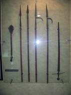 Oružje iz doba bitke.