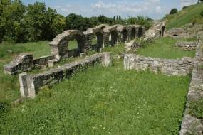 Ostaci Mitropolijskog dvora u Beogradu