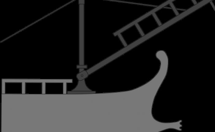 Korvus- sprava za ukrcavanje na brodove