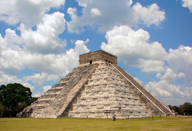 Jedno od zdanja drevnih Maja