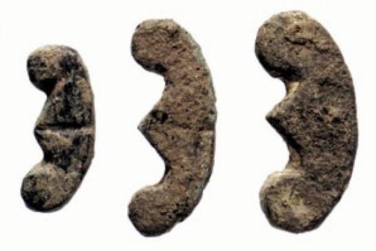 Iskopan praistorijski predmeti nalik na simbol evra