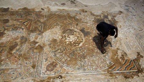 Moguće je da se mozaik nalazio u gostionici za putnike