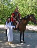Rimski vojnik i devojka