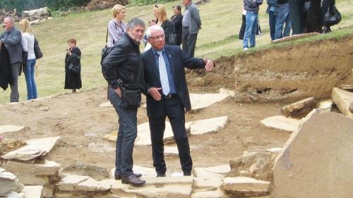 Radiša Urošević i gradonačelnik Kragujevca | Foto: Biljana Nenković