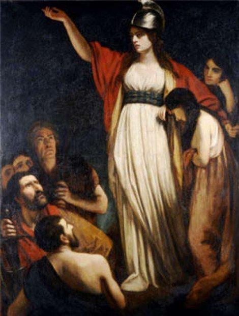 Bila vođa pobune Kelta protiv Rimljana: Budika