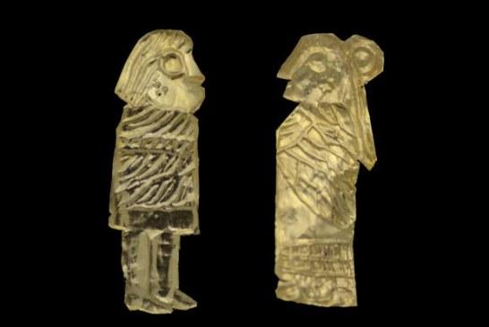 Neobične zlatne figurine otkrivene u Danskoj