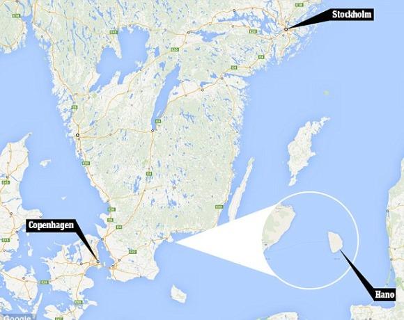 Lokacija švedske Atlantide