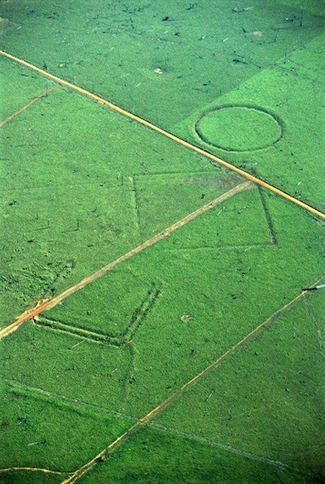 Putevi koji upućuju na postojanje gušće naseljenih delova u Amazonskim prašumama