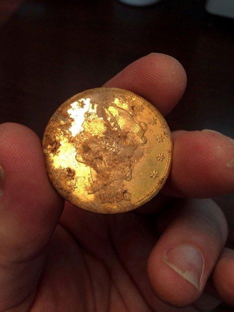 Novčiće zakopali rudari?
