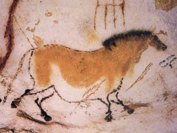 """Takozvani """"Kineski konj"""" iz Laskoa u Francuskoj, oko 14,000. p. n. e."""