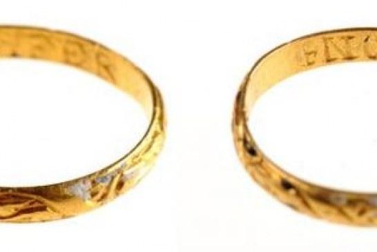 Pronađen verenički prsten star 300 godina