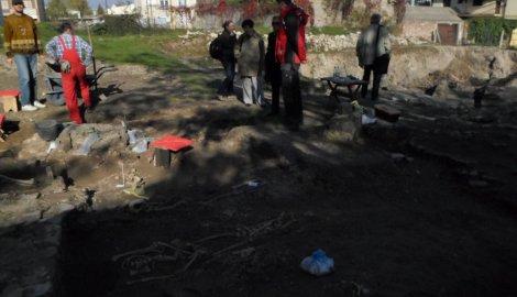 Lokalitet na kome se iskopani ostaci porfirnog kamena