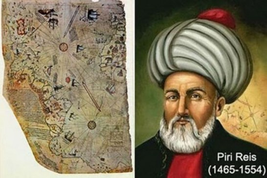 Mapa Pirija Reisa