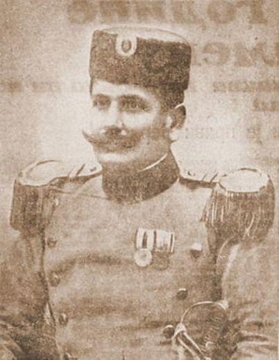 Potpukovnik Dušan Purić (posthumno unapređen u čin pukovnika)
