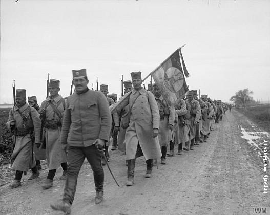 Српска војска на маршу