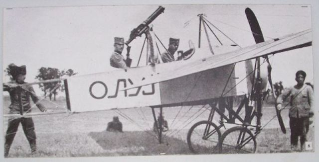 "Prvi srpski nаoružаni аvion ""Oluj"", 1915."