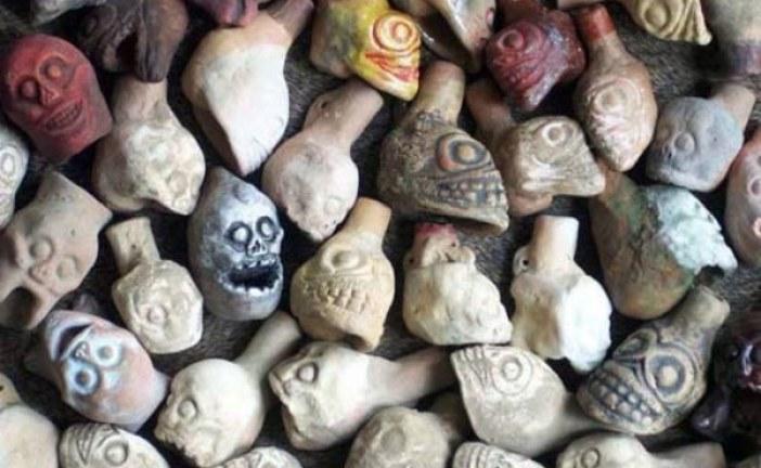 Astečki instrumenti za stvaranje ljudskih urlika – zviždaljke smrti