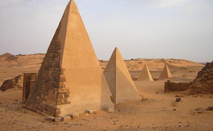 Nubijske piramide nekropole Meroe