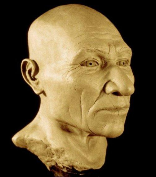 "Rekonstruisana glava ""čoveka iz Kenvika"""