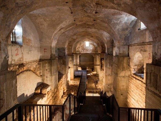 Podzemni kompleks gde su nađeni ostaci palate