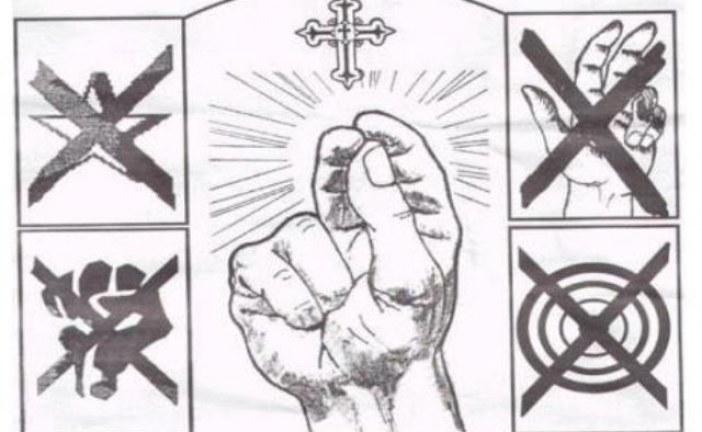 """Značenje """"tri prsta"""""""