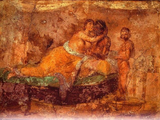 Nevesta u krevetu, Rim 1. vek pre Hrista, Foto: Wikipedia