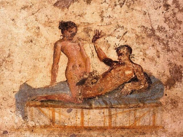 Par u krevet, Pompeja 62-79 godina nove ere, Foto: Wikipedia