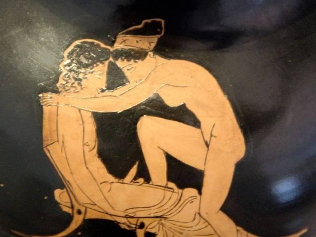 Nervozni ljubavnici, Grčka 5. vek pre nove ere, Foto: Pinterest