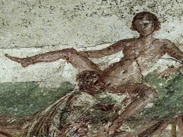Oralni seks, Pompeja 2. vek, Foto: Pinterest