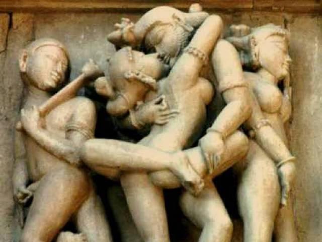 Grupni seks, Khajuraho, Indija, Foto: Wikipedia