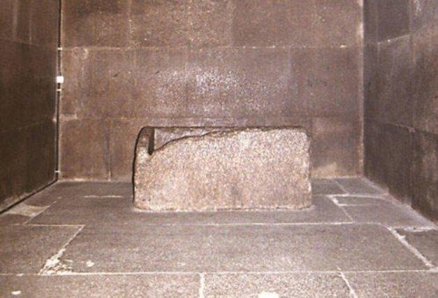 Grobnica kralja u Keopsovoj piramidi.