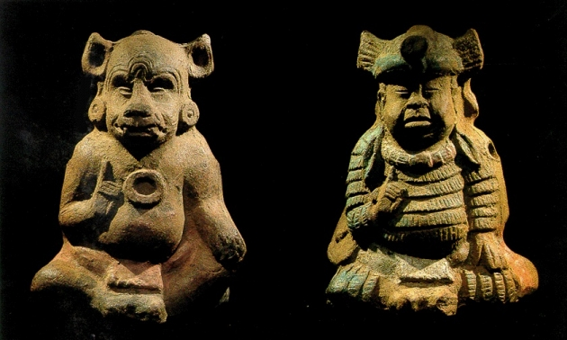 Majanske figurine