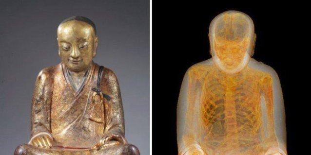 Mumija u kipu Bude