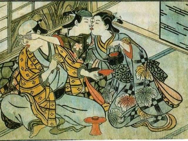 Bračni par i prostitutka, Japan 1716-1735, Foto: Wikipedia