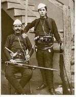 Azem Galica i Šota Galica, vođe kačaka iz Drenice.