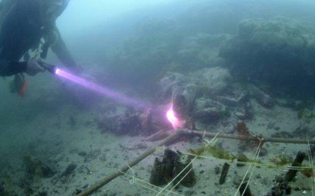 Arheolozi su tragove pronašli u ostacima sedimentnih stena, u vodama Velike Britanije