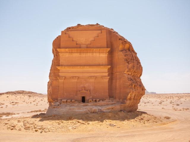 Kazr al-Farid je savršen za arheologe, jer otkriva proces gradnje grobnica