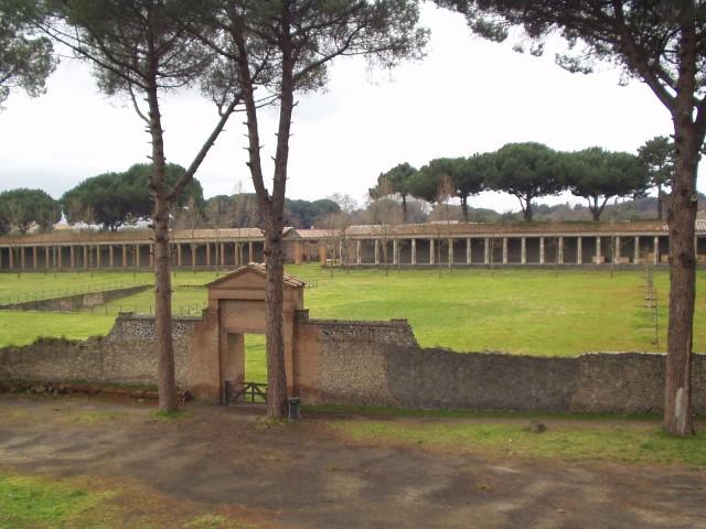 Palestra gimnazijuma u Pompeji.