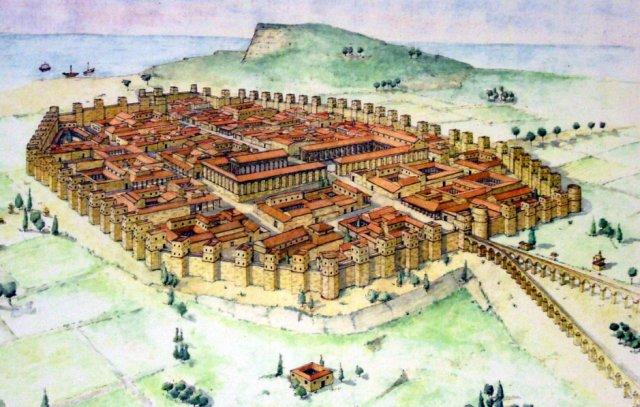 Barcino - rimski vojni logor u Španiji