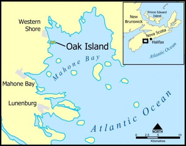 Ostrvo hrastova u Kanadi