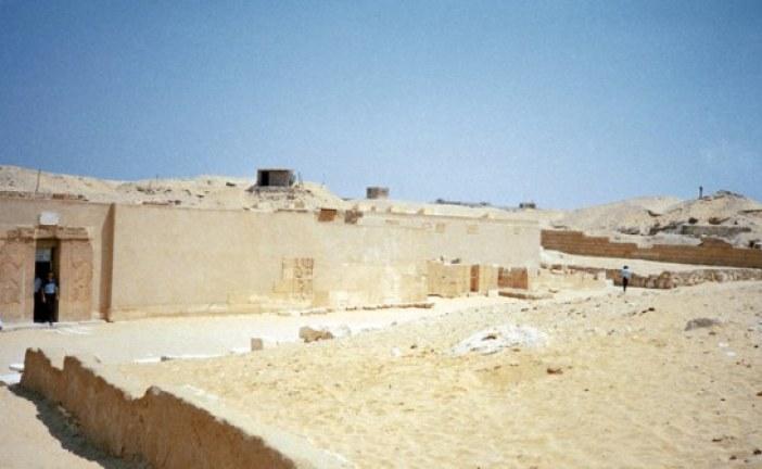 Ruski arheolozi pronašli beli zid Memfisa