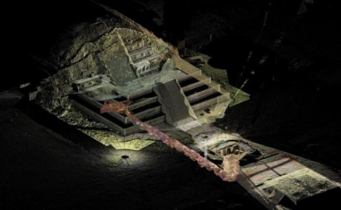 Velike količine žive pronađene ispod meksičkih piramida mogle bi da otkriju kraljevu grobnicu