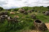 Misteriozne kamene tegle na ogromnoj ravnici Ponsavan u Laosu